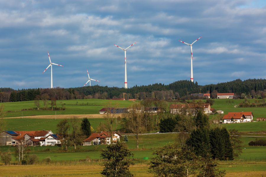 Windräder in Wildpoldsried